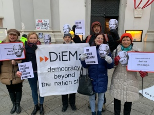 Vienna Jan 2020: Free Assange